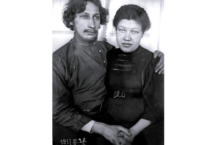 Павел и Анна Флоренские 28 марта 1911 года