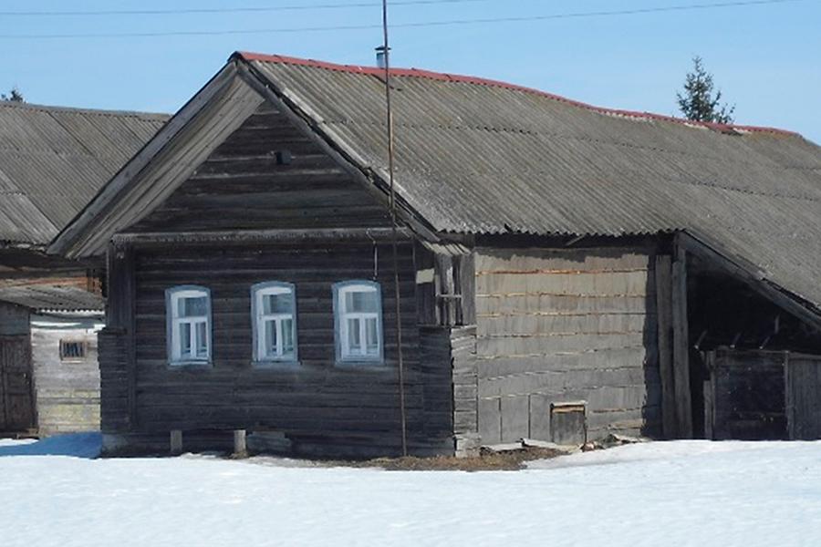 В Савцыне сохранился один из самых старых деревянных домов в Кашинском районе