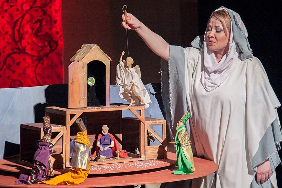 Рождественский вертеп Нижнетагильского театра кукол
