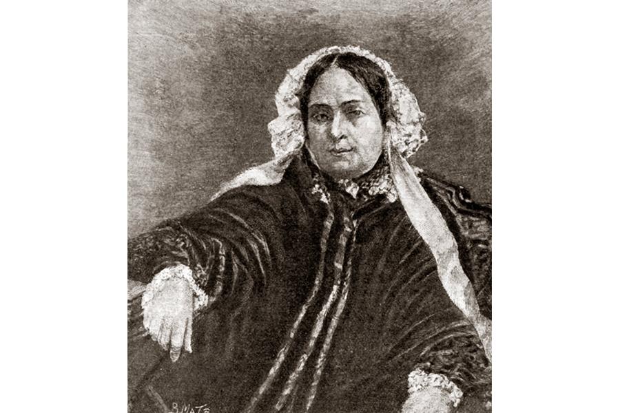 Мать Гоголя после смерти мужа