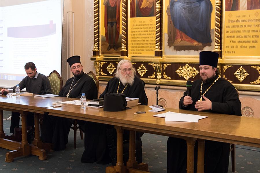 Выступление священника Романа Ткачева