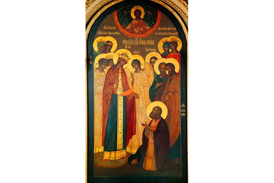 Явление Божией Матери преподобному Серафиму Саровскому