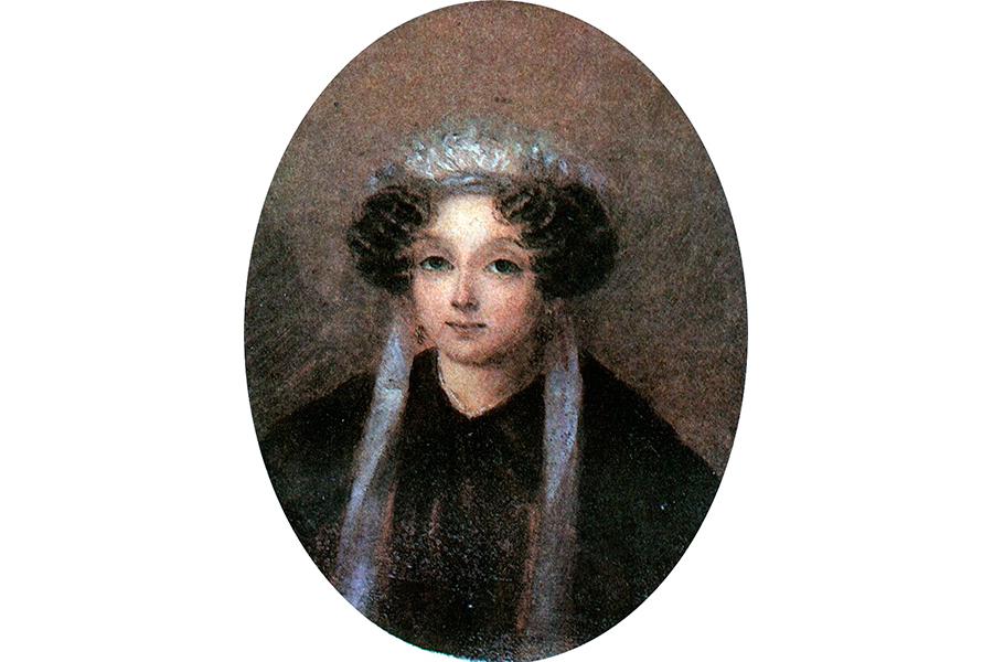 Мать Гоголя Мария Ивановна Гоголь-Яновская в молодости