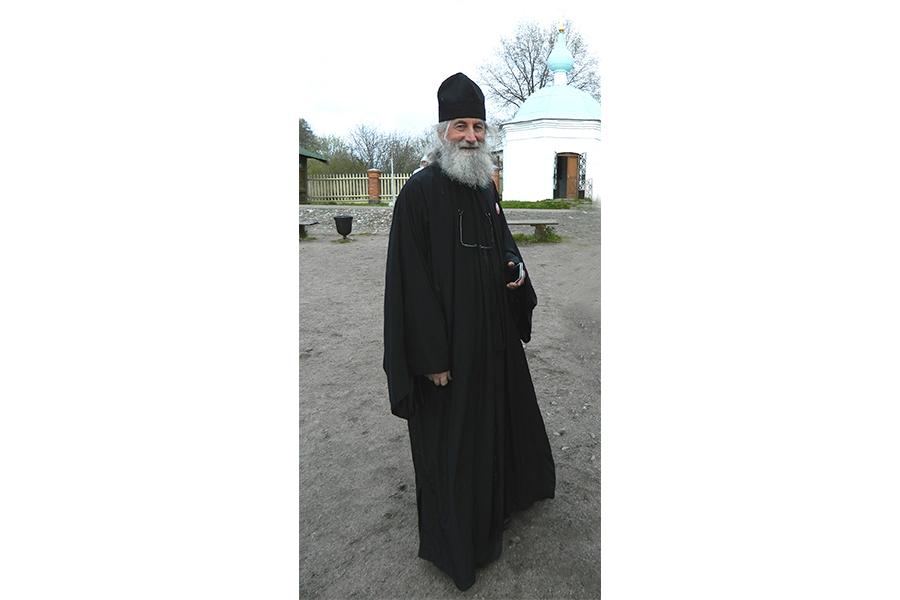 Протоиерей Иоанн Пламенац на Валааме во дни Всеславянского съезда 2017 г.