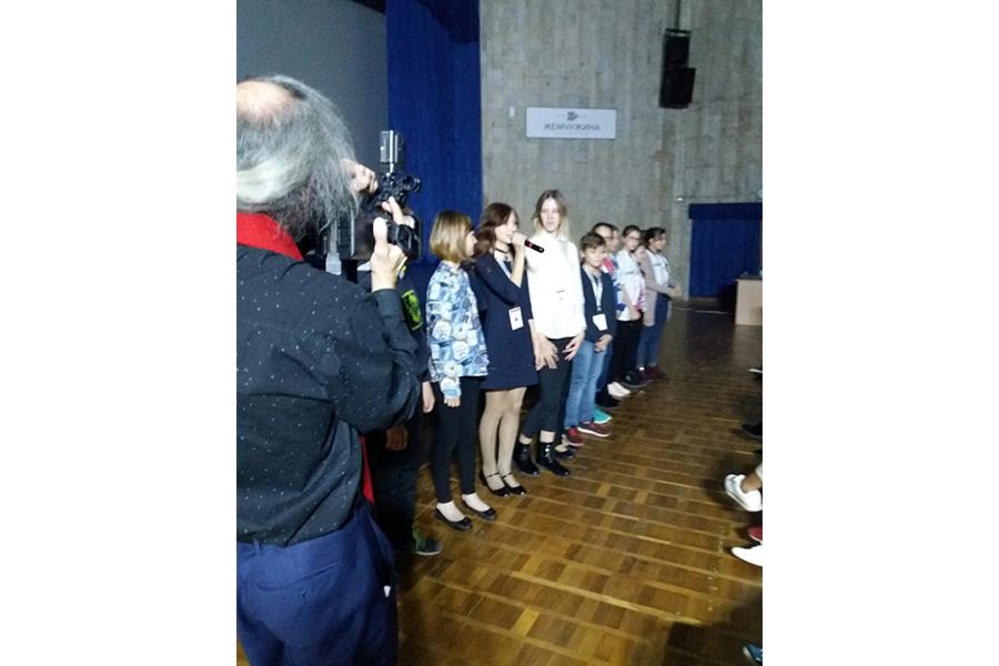 Участники международного фестиваля кинопритч
