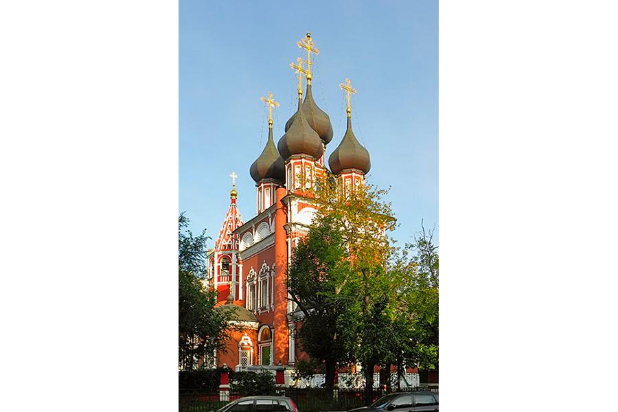 Церковь Ризоположения на Донской улице в Москве