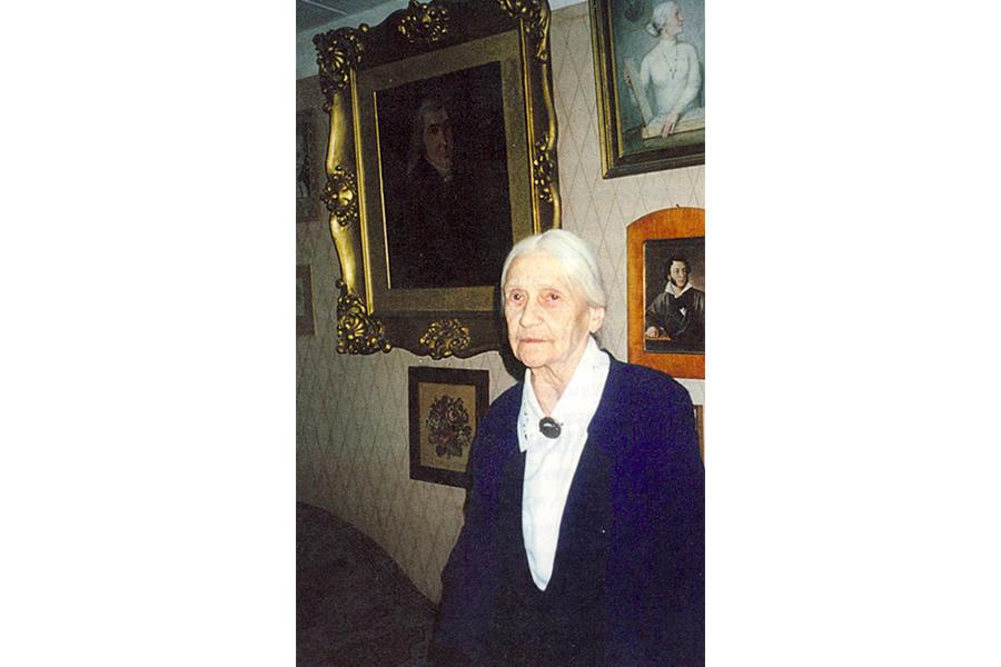 Наталия Сергеевна Мезенцова, последняя владелица ладанки