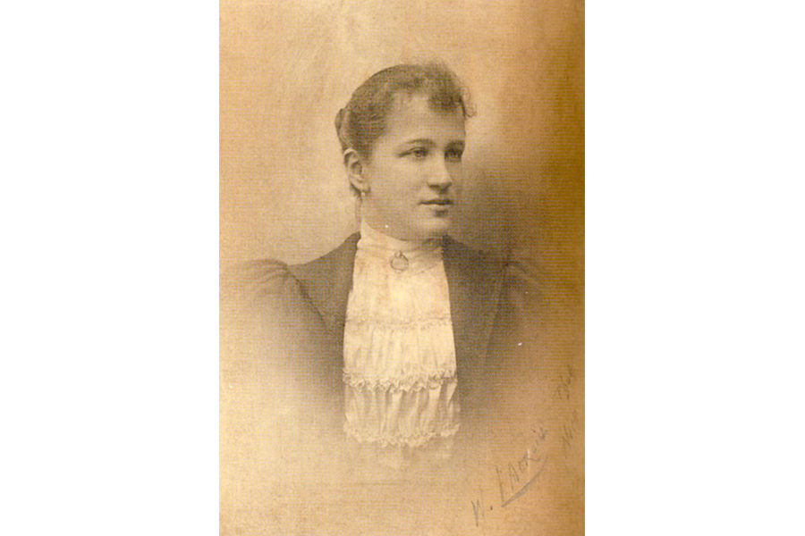 Анна Александровна Пушкина, внучка поэта