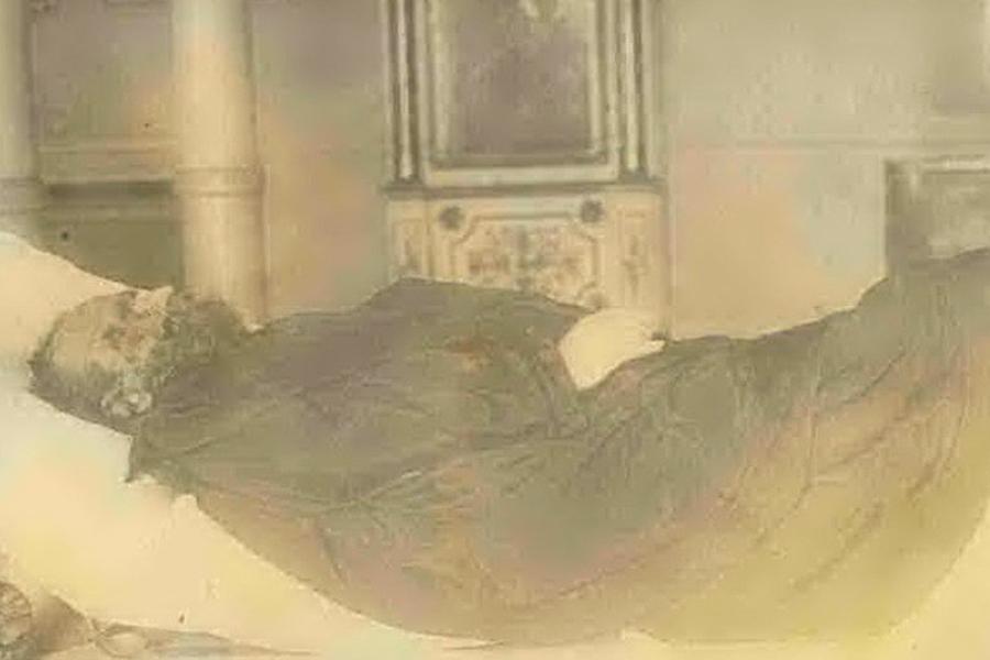 Посмертная фотография митрополита Владимира