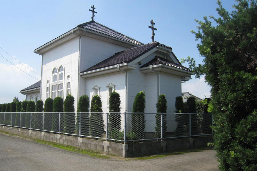 Храм Благовещения Пресвятой Богородицы. Префектура Тиба, близ Токио