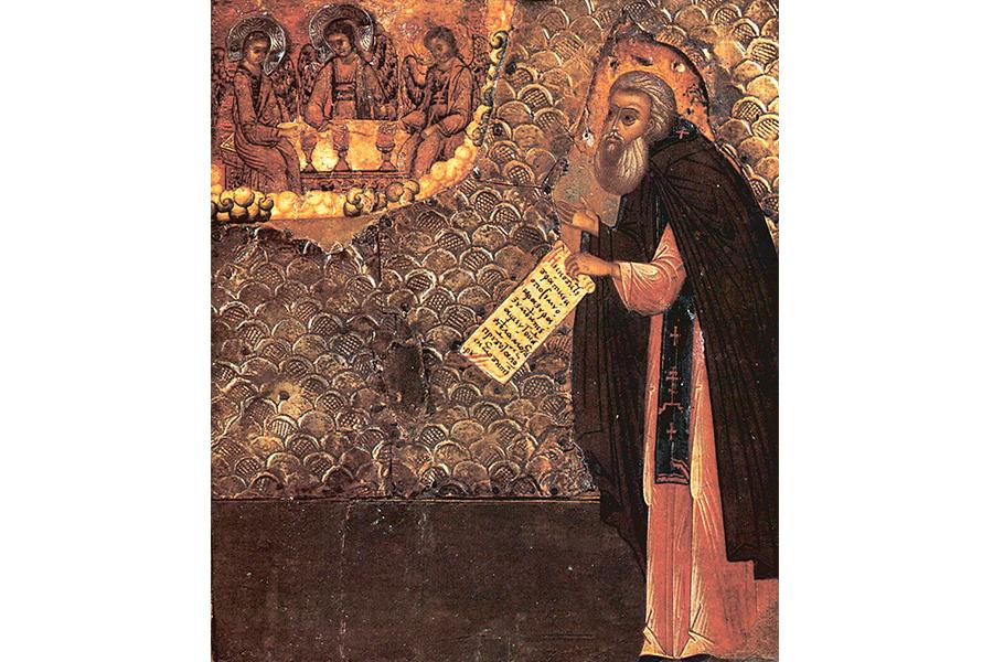 Макарий Калязинский, икона 17 в