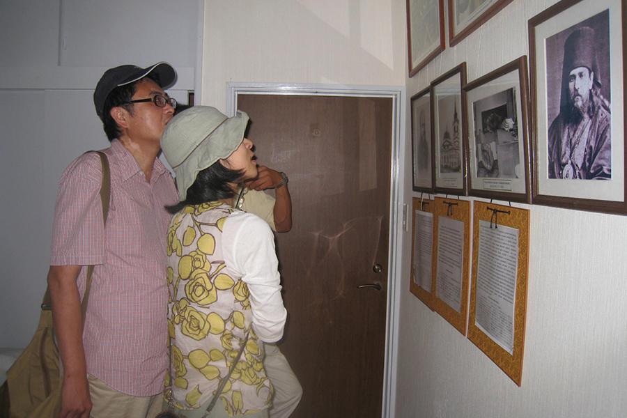 Музей православия в Японии в монастыре в префектуре Тиба