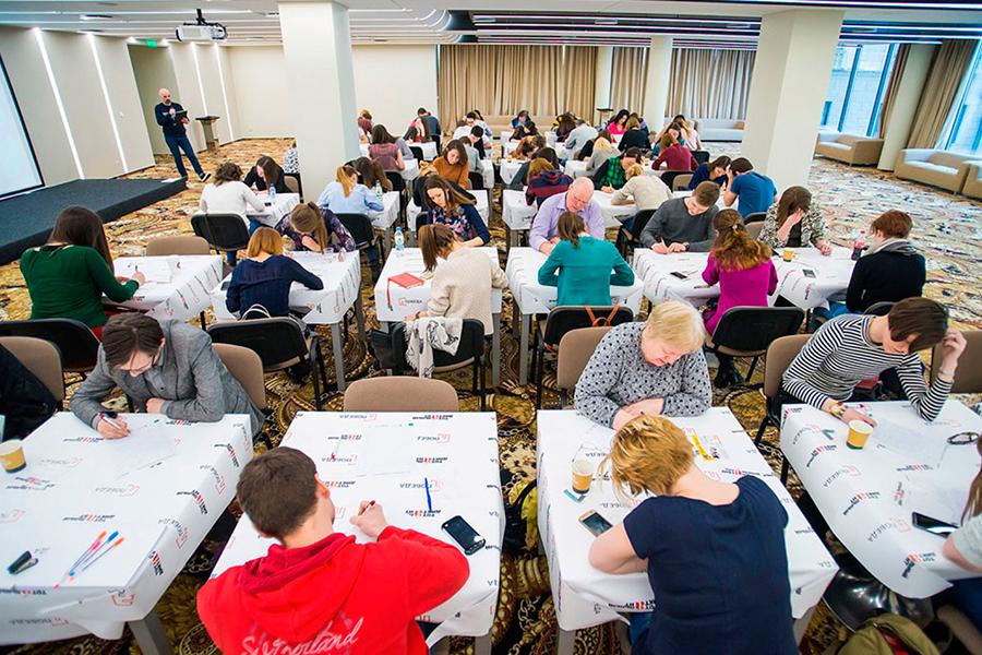 В проекте тотального диктанта любой желающий может проверить свой уровень знания русского языка