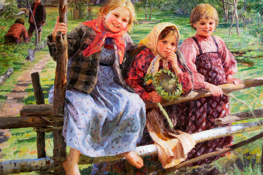 Картина Федота Васильевича Сычкова