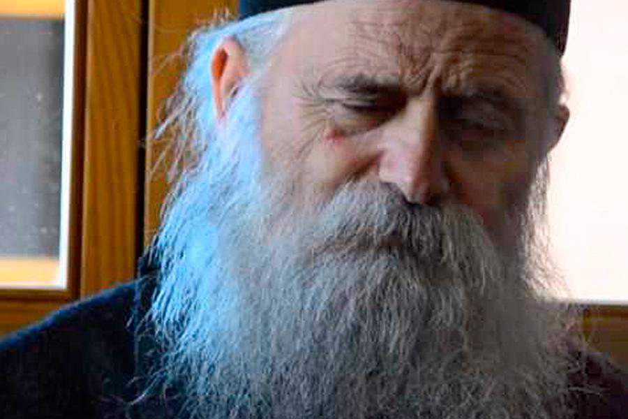 Наместник Келии Святителя Николая на Святой Горе Афон отец Арсений