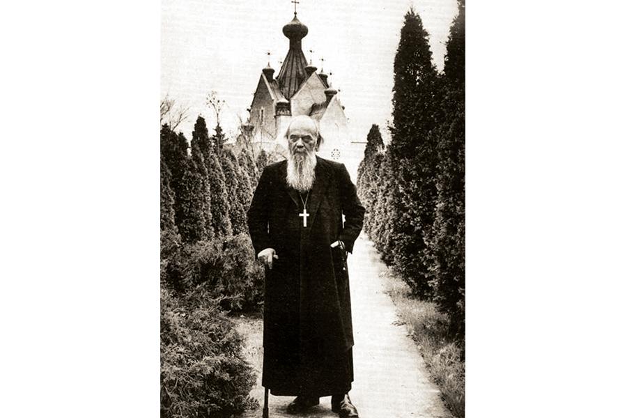 Святитель Николай Сербский в последние годы жизни