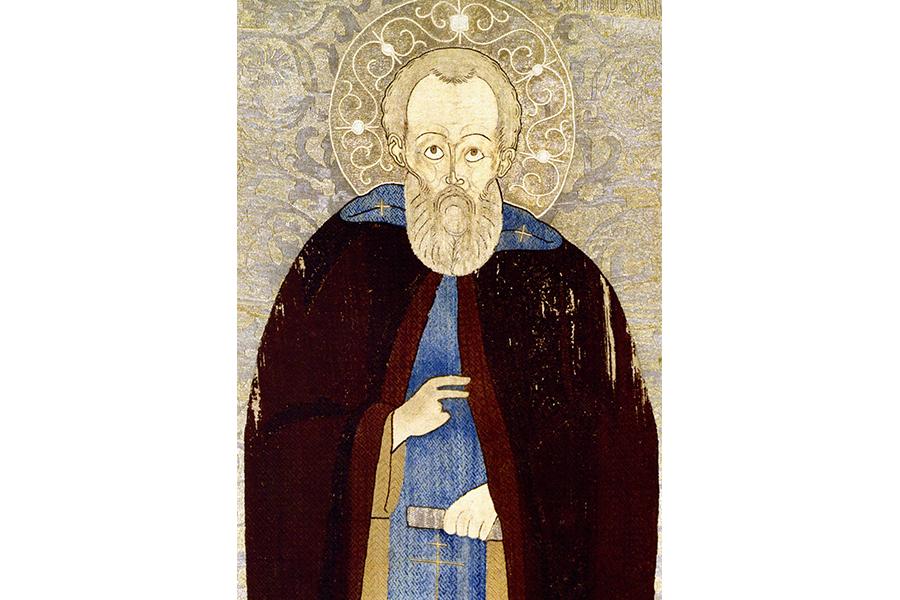 Преподобный Макарий, шитье