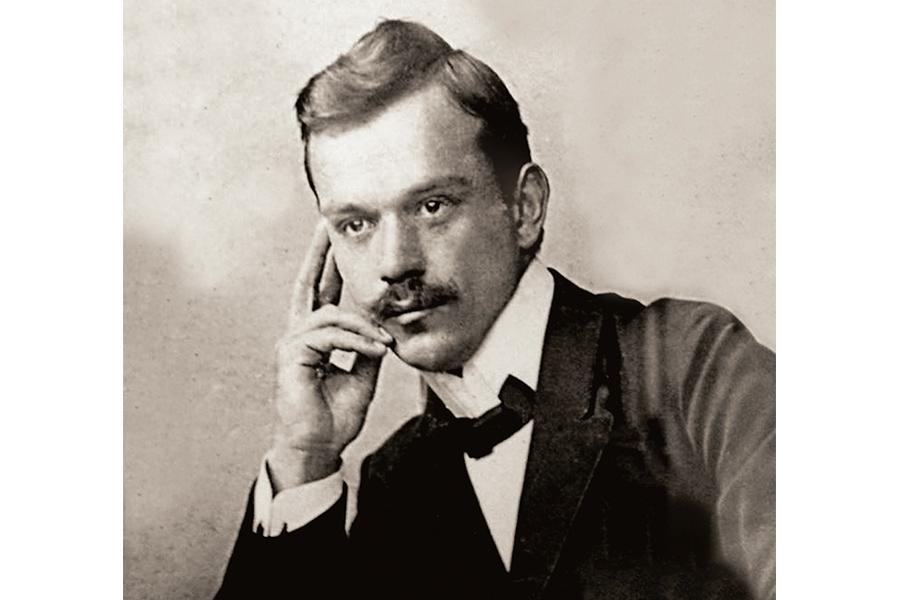 Никола Велимирович в студенческие годы
