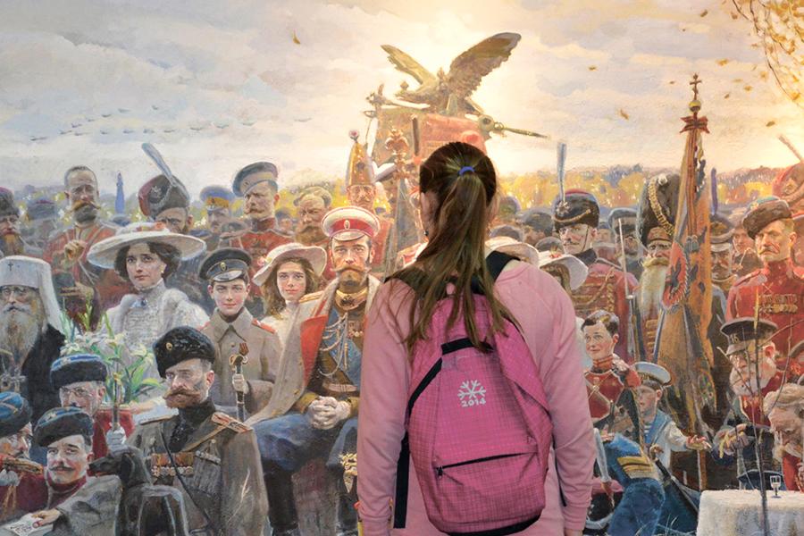 У картины Павла Рыженко