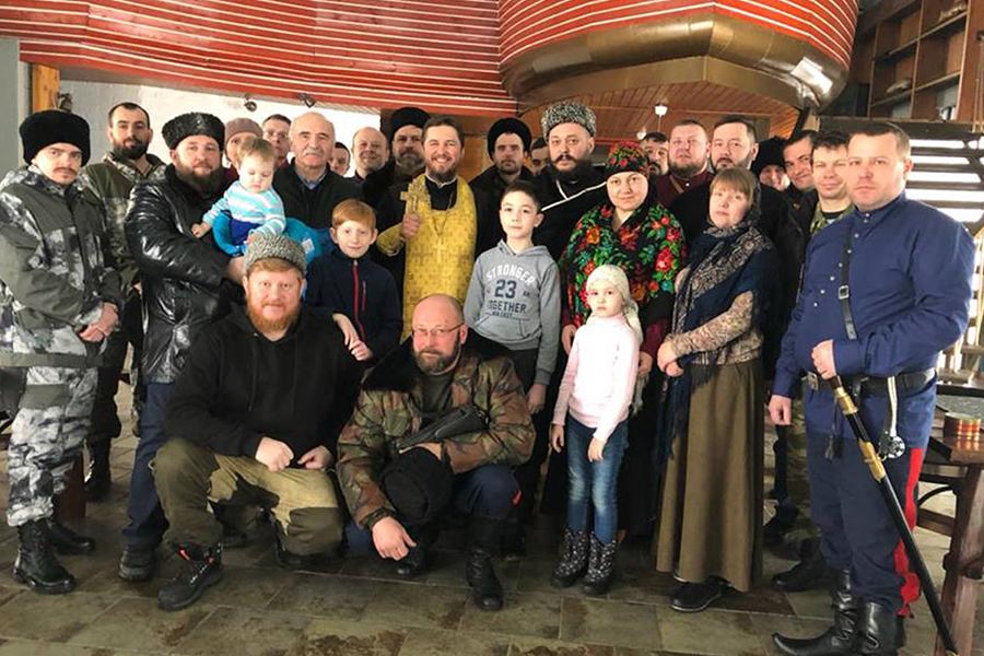 Казачья община в этнокомплексе Кумжа