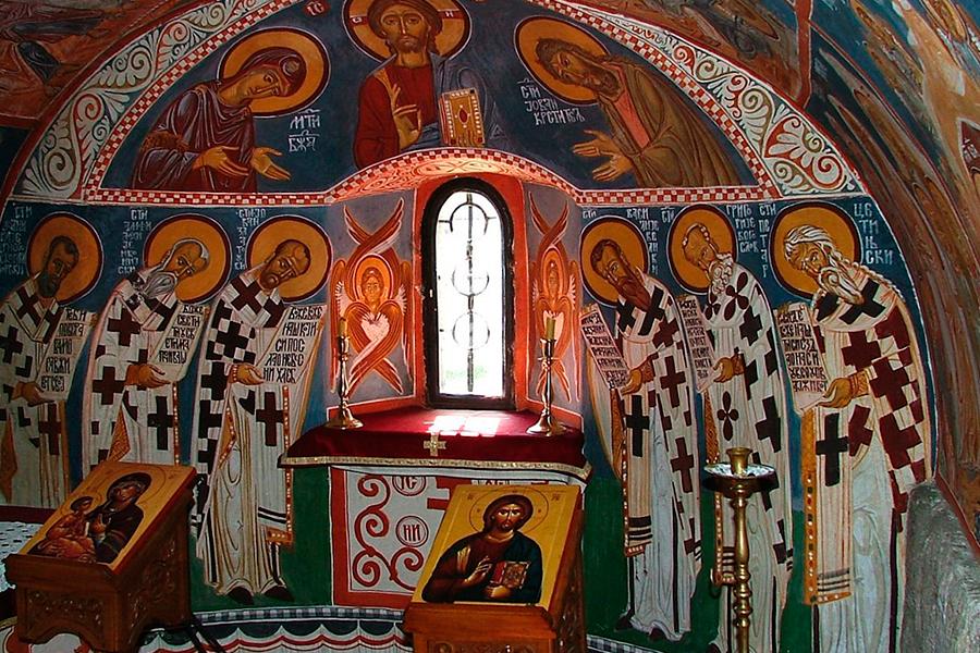 Фрески Цетинского монастыря