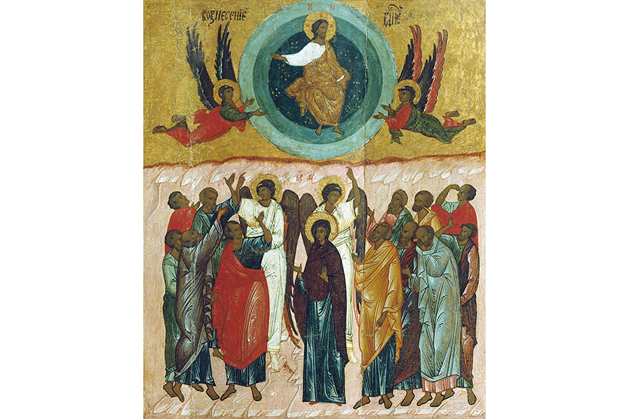 Вознесение Господне, икона