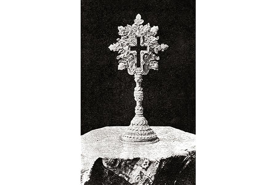 Крест князя Лазаря, подарок русскому Царю Николаю II от Драгини Петрович