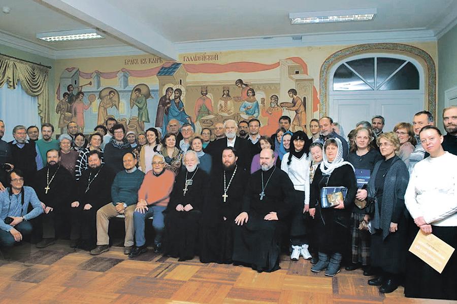 Второй съезд семейных клубов трезвости в Донском монастыре