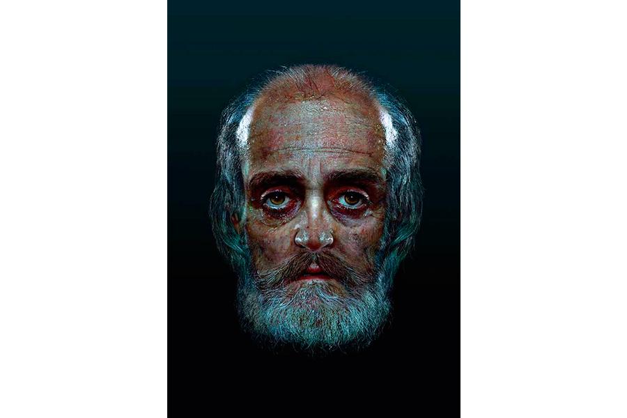 Подлинный исторический облик Николая Мирликийского, восстановленный по черепу профессором Мартино