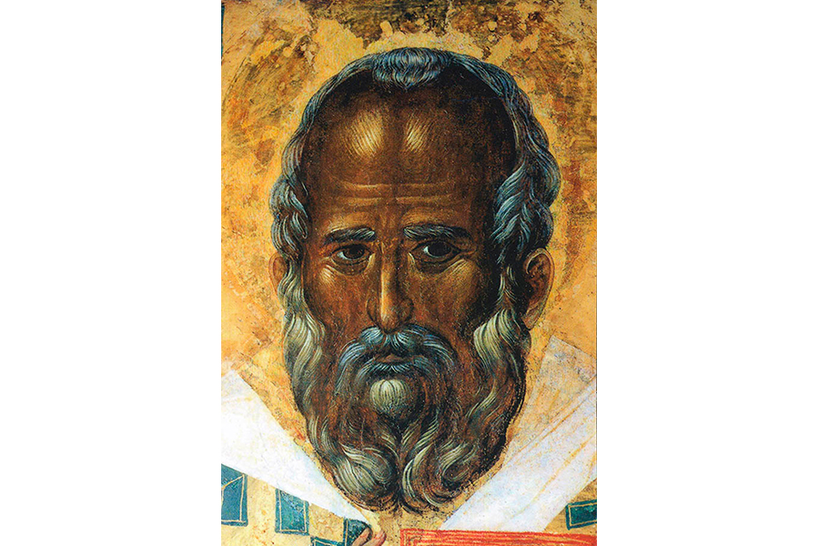 Прижизненный портрет Святителя Николая Мирликийского