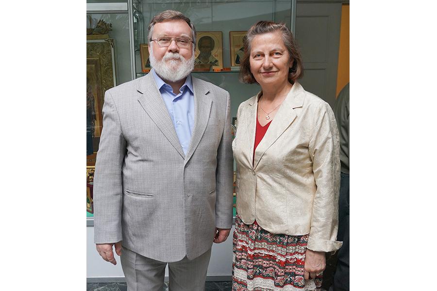 Алексей Соловьёв и Ольга Гаврилова