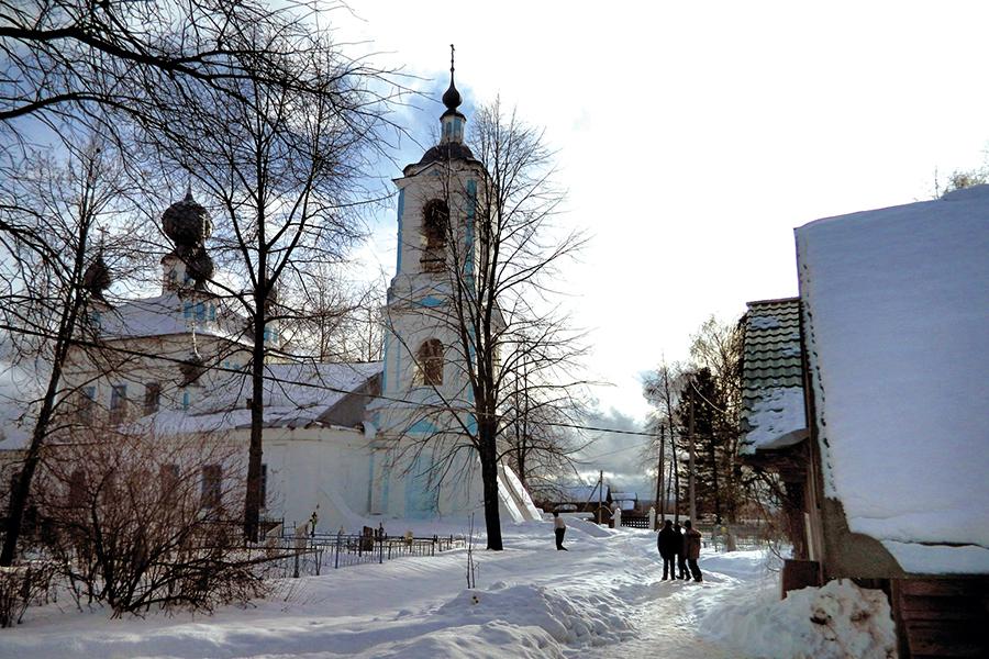 Храм Рождества Пресвятой Богородицы в Жарках
