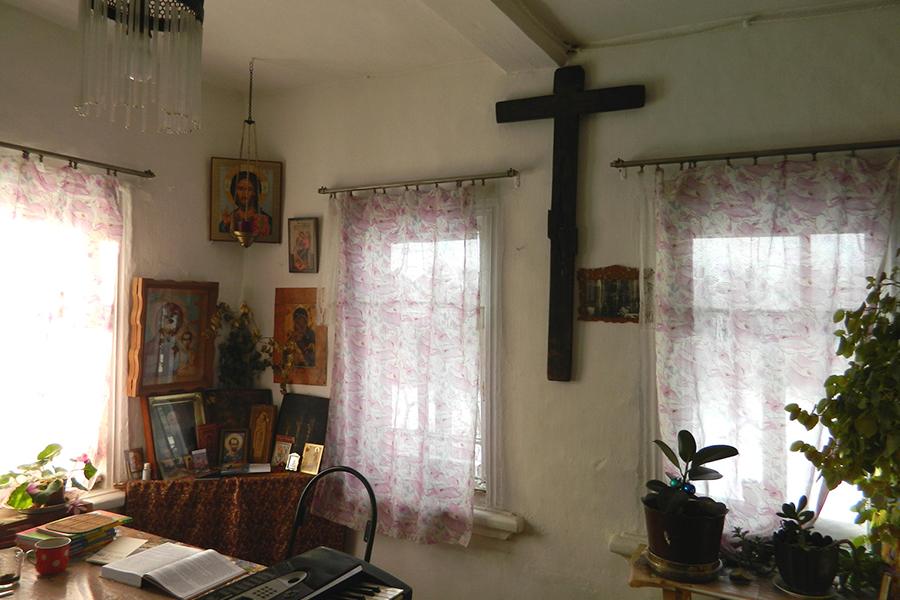Комната, где жил иеромонах Нестор
