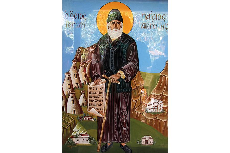 Участники экспедиции увидели свое отражение в образе преподобного Паисия