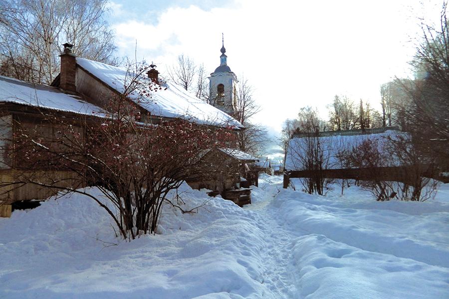 Село Жарки Юрьевецкого района Ивановской области
