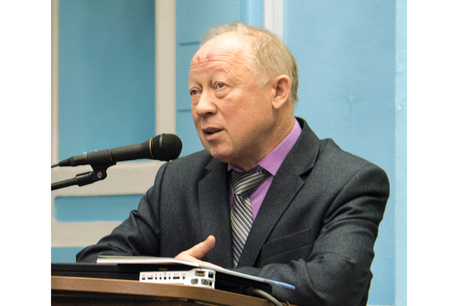 Заведующий кафедрой Курского госуниверситета В.М. Меньшиков