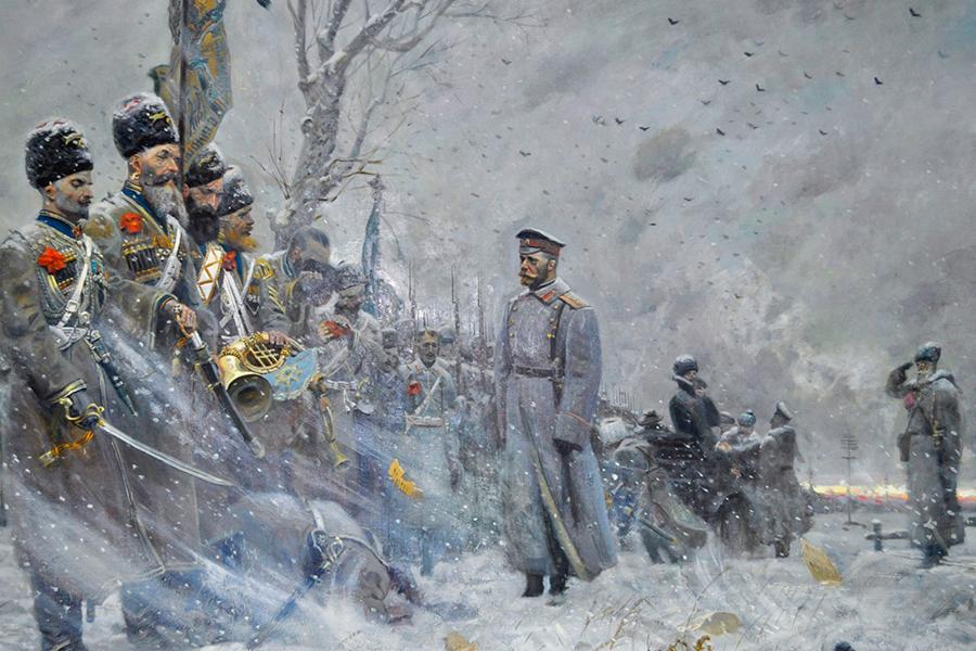 Павел Рыженко. Прощание с конвоем