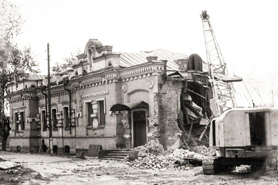 Слом дома Ипатьева