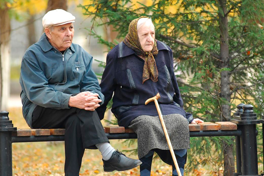 Старики на покое