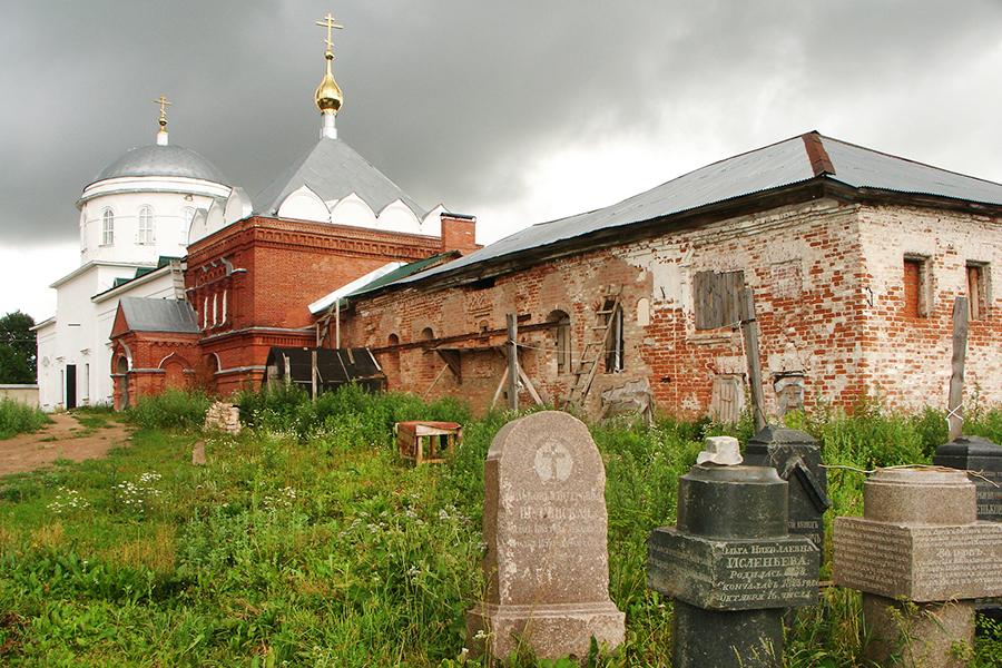 Николаевский Клобуков монастырь