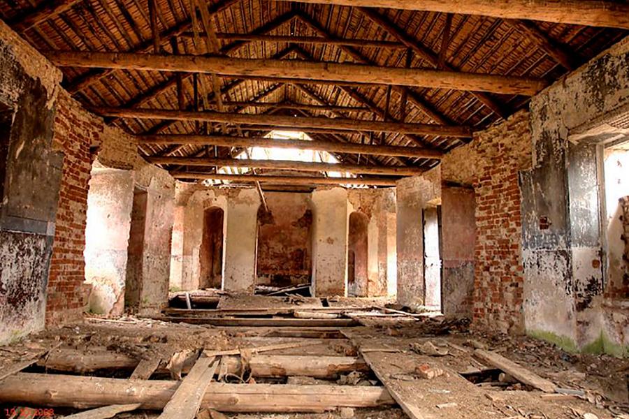 Церковь Спаса Нерукотворного образа в Бакланово