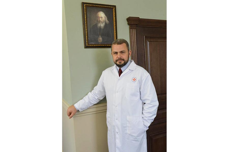 Главный врач больницы Алексей Юрьевич Заров