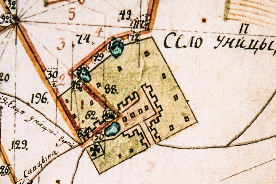 Исторический план села Уницы