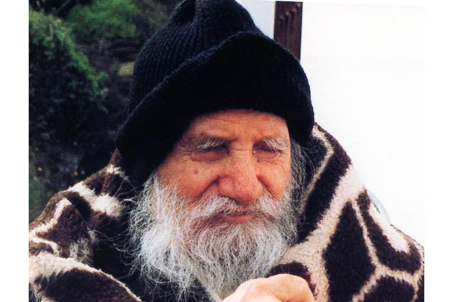 Старец Порфирий Кавсокаливит в последние годы жизни