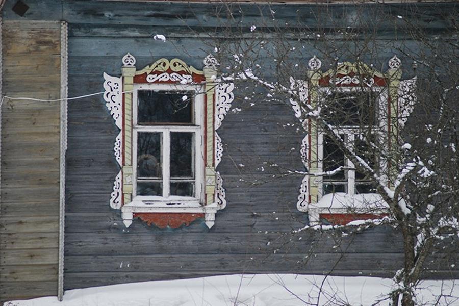 Наличники дома №12