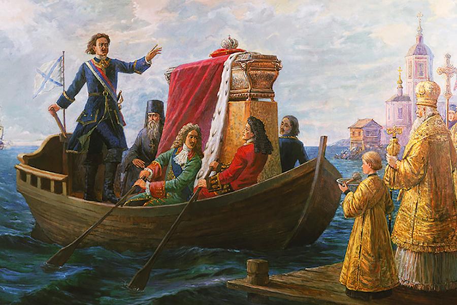 Перенесение мощей святого благоверного великого князя Александра Невского
