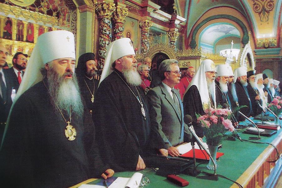 Юбилейный Поместный собор, Сергиев Посад, 1988 год