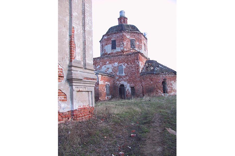 Церковь села Савцына до восстановления