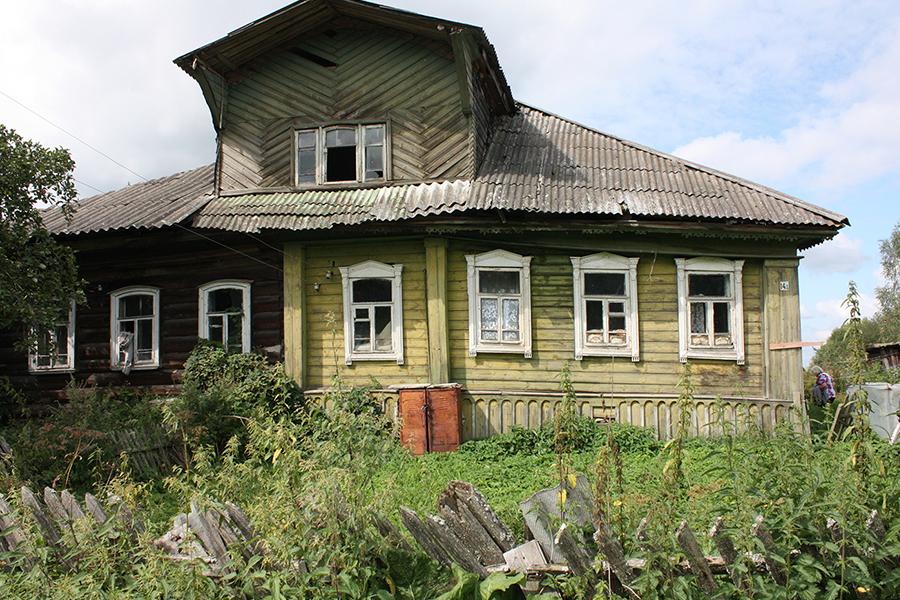 Дом священников Носовых в селе Савцыно