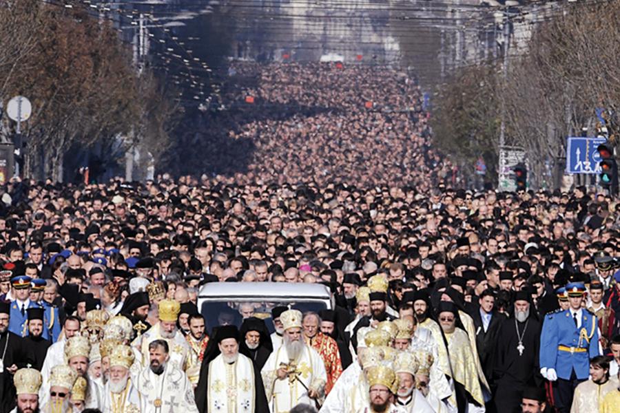 Похороны Святейшего Патриарха Павла